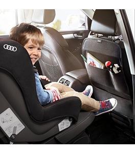 Protection de dossier avec compartiments Audi