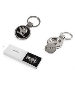 Porte-clés Volkswagen en cuir