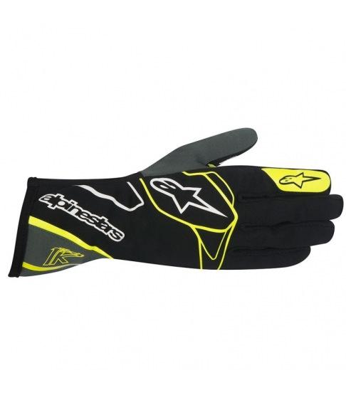 Gants pour pilote de karting de compétition et loisir Alpinestars Tech-1K Glove