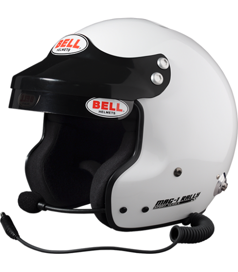 Casque Jet Bell Mag-1 pour pilote de Rallye